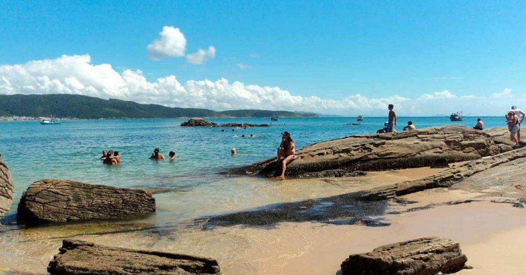 Praia da Lagoinha Bombinhas